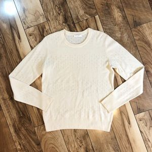 Equipment Cashmere Shane Cut Out Sweater